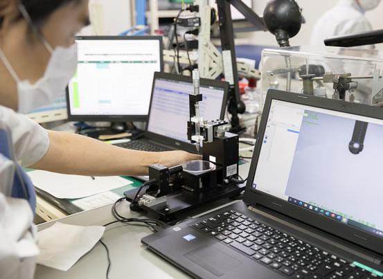 研究開発への取り組み 新技術/製造技術 共同研究と自社技術開発により商品開発・技術開発を継続